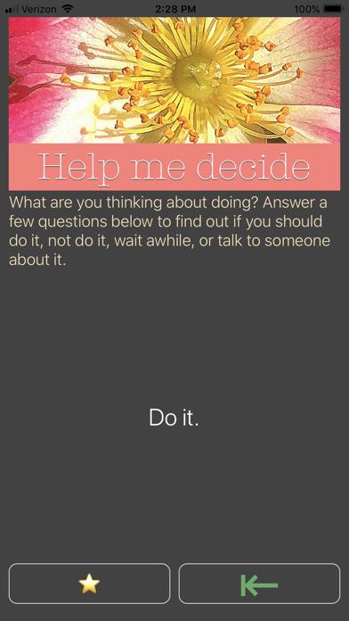 Help Me 2 Decide screenshot two
