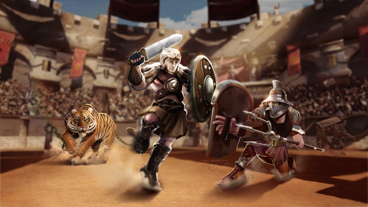 Gladiator Heroes - Clans Clash screenshot-3