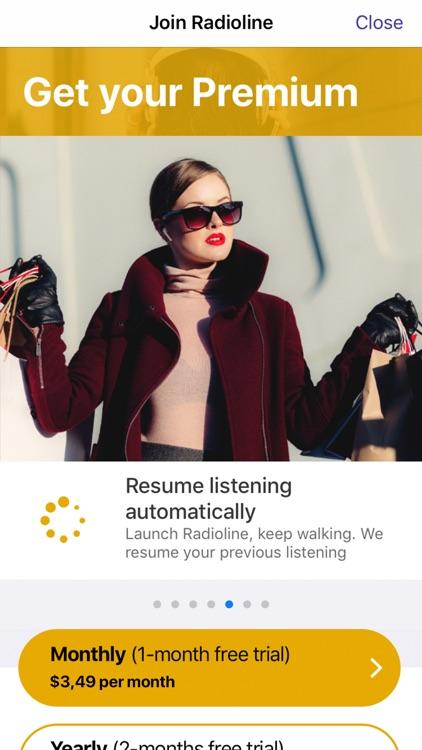 Radioline live radio & podcast screenshot-7