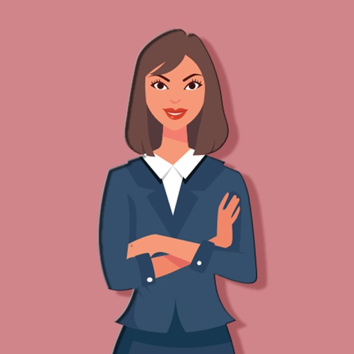 Business Lady Stickers