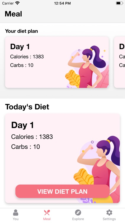 Low Carb Recipes & Diet Plans screenshot-3