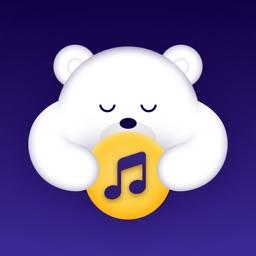 Sleepy Teddy: Baby White Noise