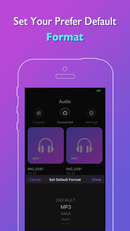 Audic - Audio MP3 Converter by Paul Green