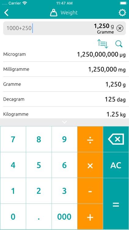 Conversion Calculator (inches) screenshot-5