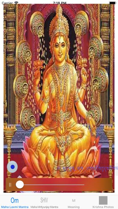 Maha Laxmi Mantra With Audio Screenshots