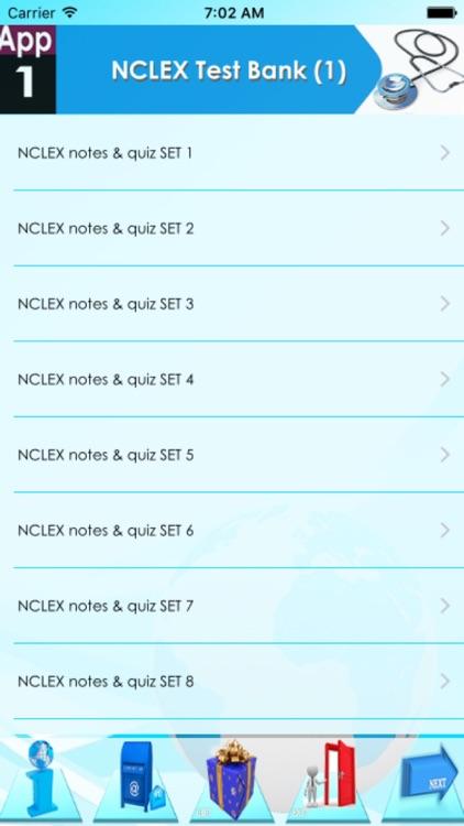 NCLEX Test Bank 5500 Quizzes screenshot-4