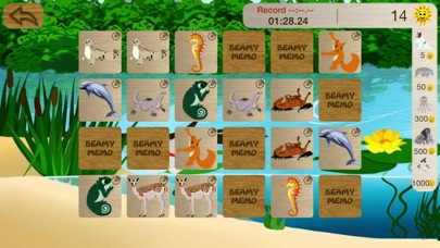 点击获取Beamy memo animals kid game