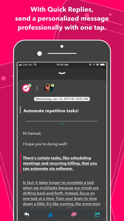Nural - tasks, notes & chat screenshot-8