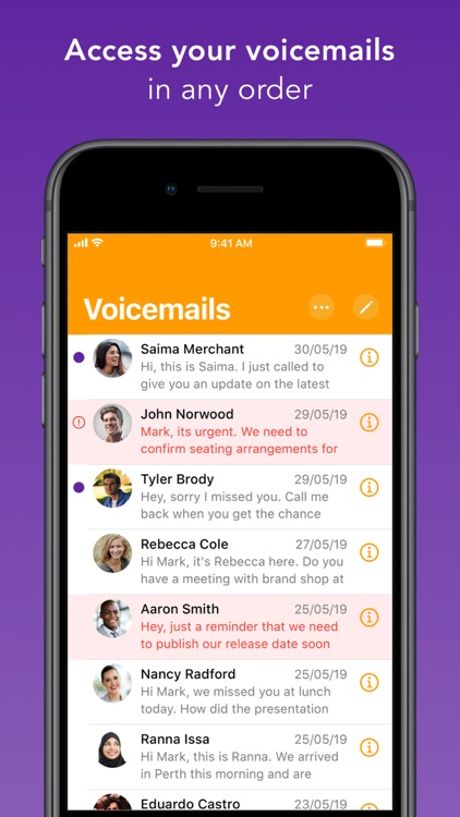 Spark Voicemail screenshot-4