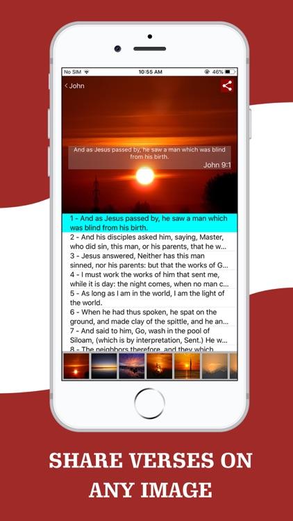 American King James Bible screenshot-5