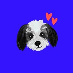 Maltipoo Dog Stickers
