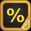 Tip Calculator % Pro - iPhoneアプリ