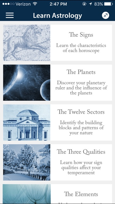 Daily Horoscope Astrology Zone Screenshot