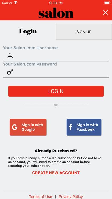 messages.download Salon.com software