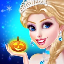 Ice Princess Makeup & Dress up