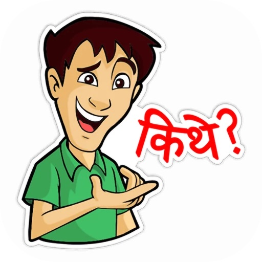 Delhi Boy Stickers Pack