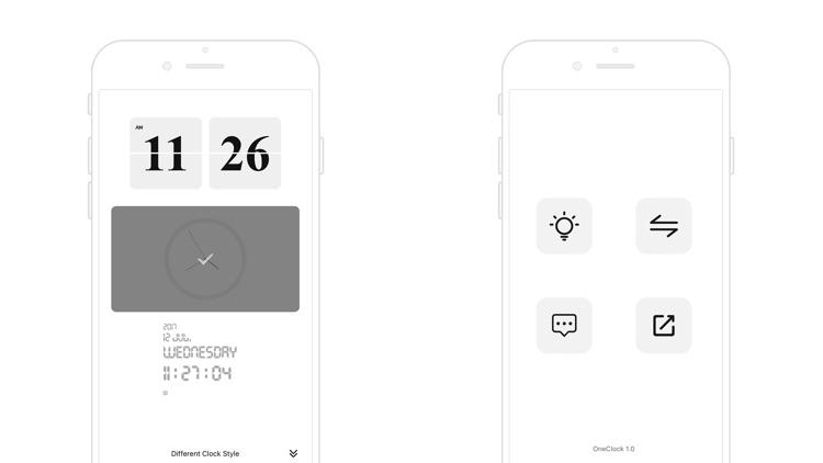 OneClock - A Simple Flip Clock screenshot-4