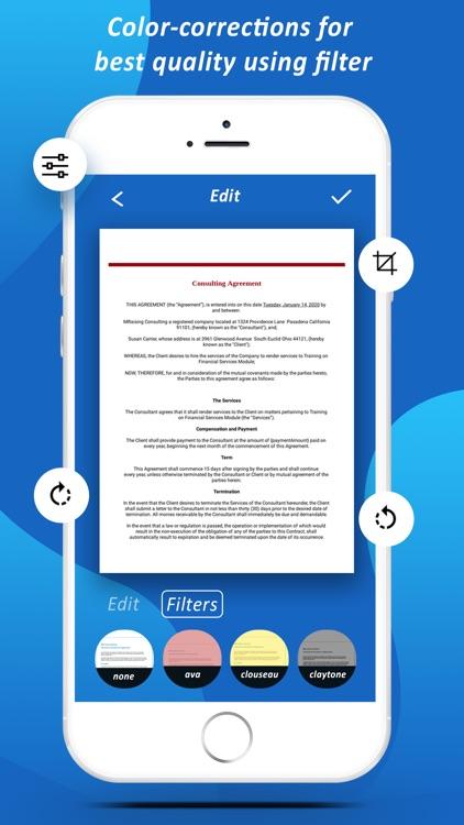 Quick Scanner - Scan Documents screenshot-4
