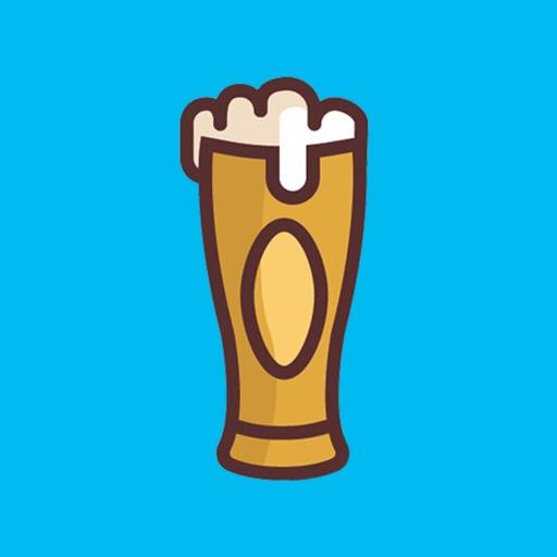Love beer stickers & emoji