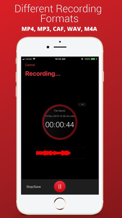 Recorder Plus : Voice Recorder screenshot-3