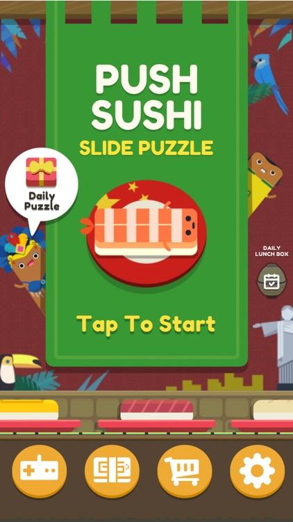 Push Sushi - slide puzzle screenshot-0