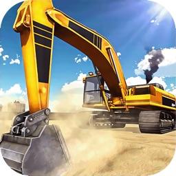 挖掘机模拟器:爆破建造城市模拟游戏