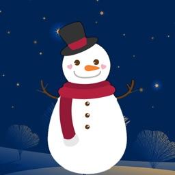 Snowman Winter stickers emoji