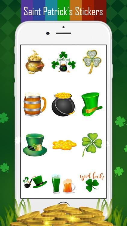 Saint Patrick's Day Sticker screenshot-3