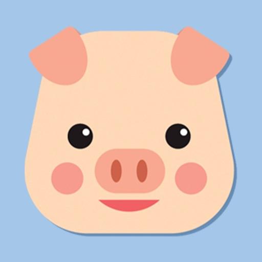 Pig emoji - Swine stickers