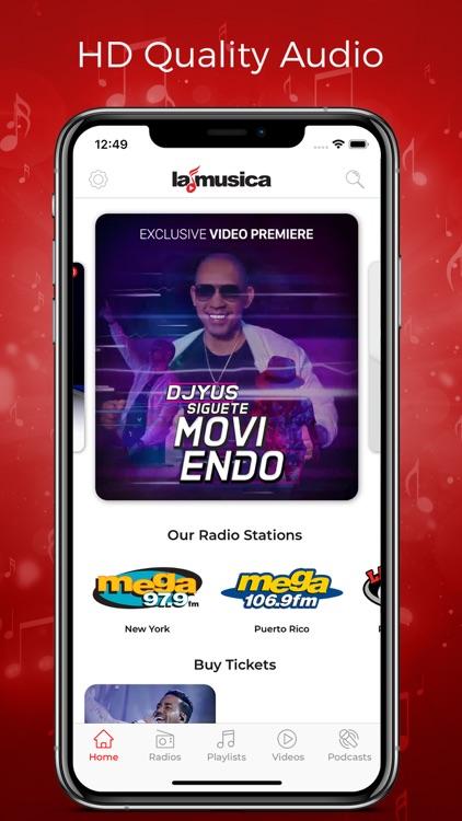 LaMusica - Radio & Podcasts screenshot-4