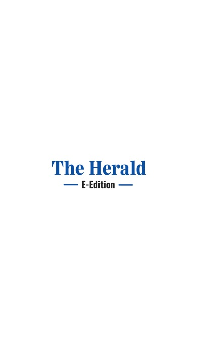 The Herald E-Edition