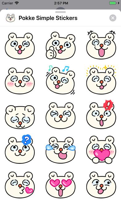 点击获取Pokke Simple Stickers