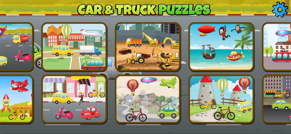 Car and Truck Puzzles For Kids Cheat Codes