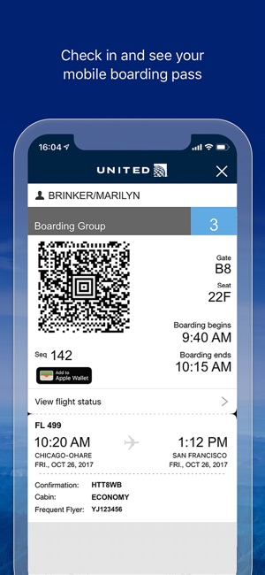 United Airlines on the App Store eabf5cb945955