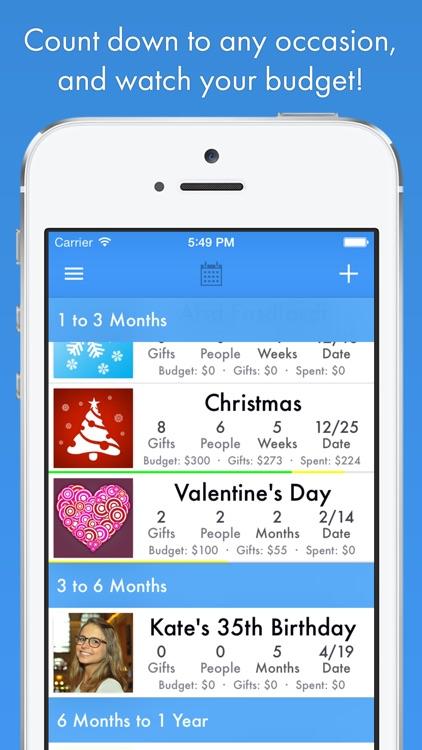 GiftPlanner screenshot-4