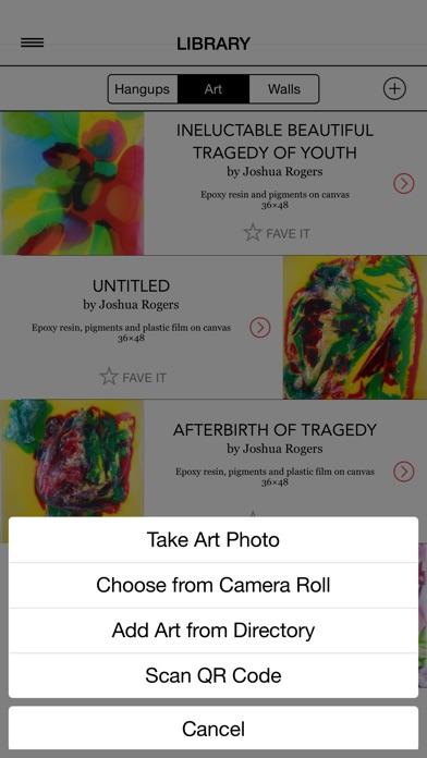 ARTSEE - Artwork Wall Previews Screenshots