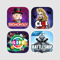 App Icon for Fun Classic Board Games - Play MONOPOLY CLUE, THE GAME OF LIFE 2 and BATTLESHIP now! App in United States IOS App Store