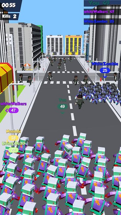 Zombies Crowd In City 2019 screenshot 3