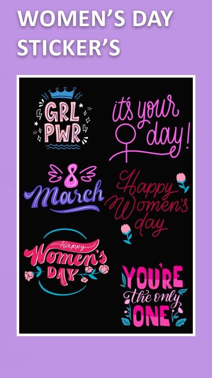 Women's Day Photo Frame Editor screenshot-3