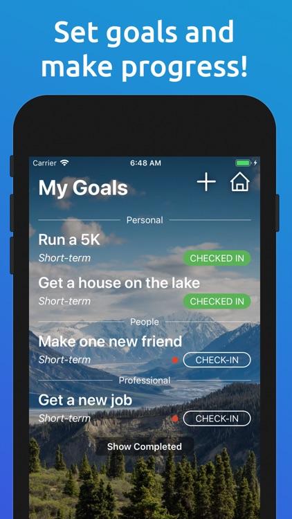 Being Me: Journal/Goals/Habits screenshot-6