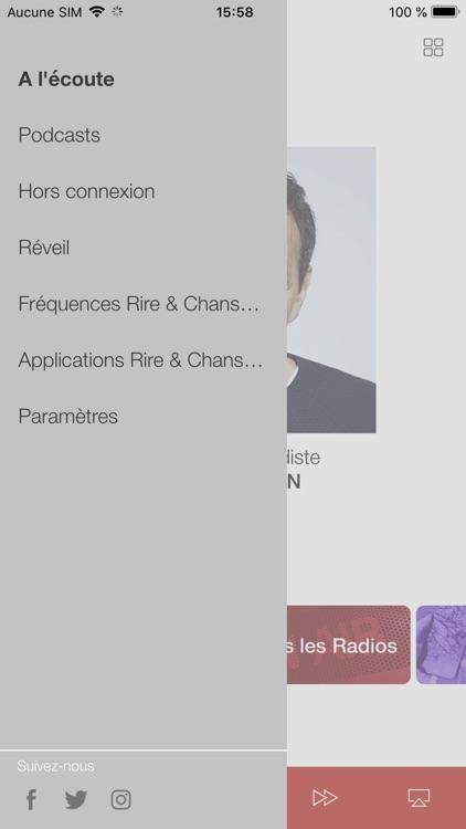 Rire et Chansons Radio screenshot-4