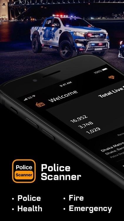 Police Scanner App, live radio screenshot-5