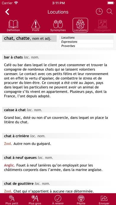 Dictionnaire Le Robert Mobile
