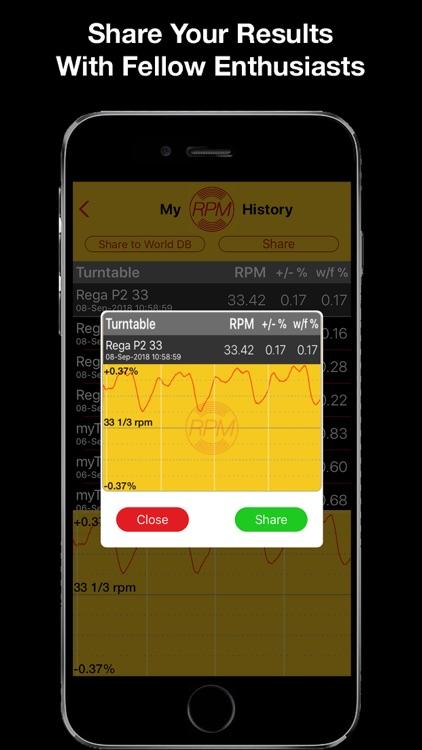 RPM - Pro Turntable Accuracy screenshot-3