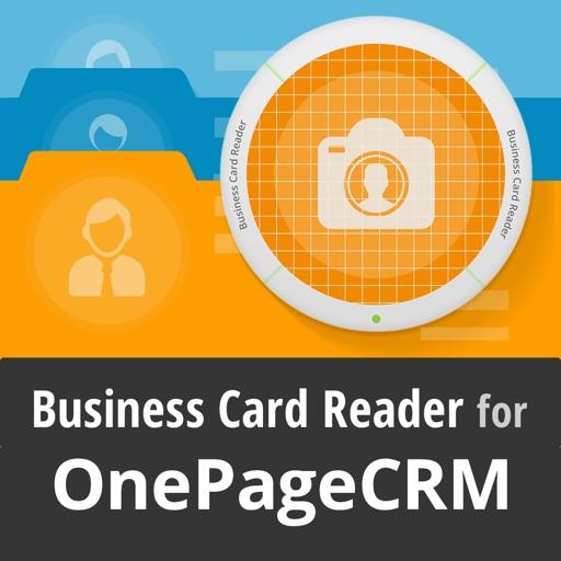 OnePageCRM Biz Card Reader