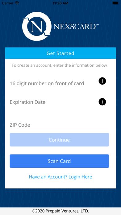 NexsCardScreenshot of 3