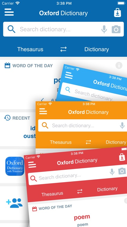 Oxford American Dict. & Thes. screenshot-4