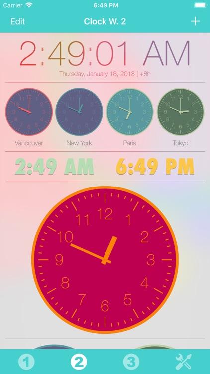 Clock Widget screenshot-5