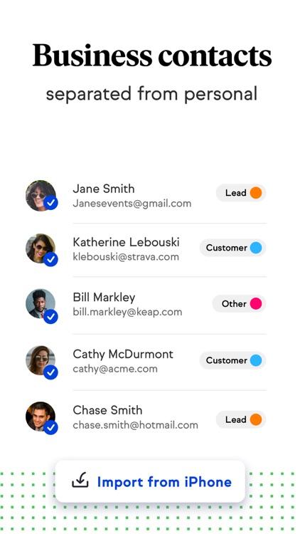 Keap: CRM & Second Phone Line screenshot-4