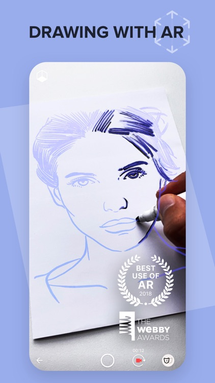 SketchAR Create Art Draw Paint screenshot-0